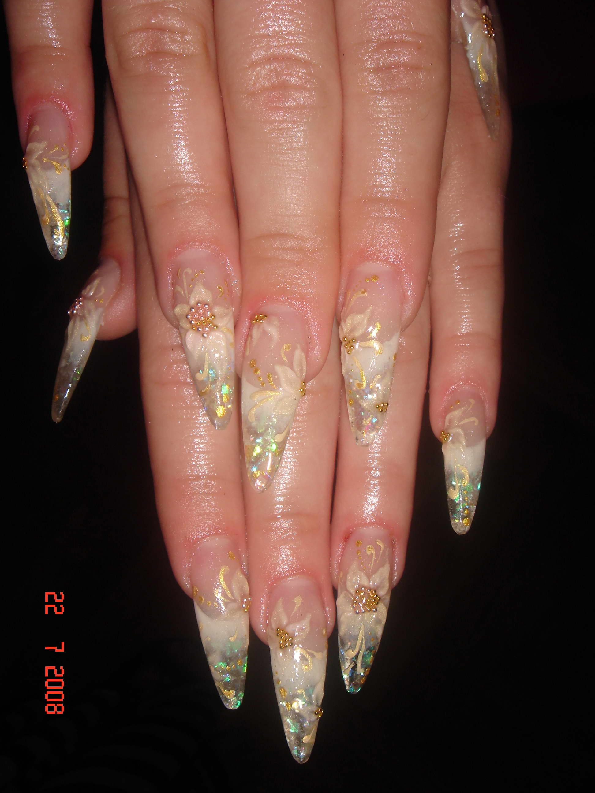 Фото по наращиванию ногтей в контакте